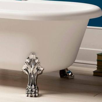 Diseño de baño independiente, pies en acabado cromado - Gratis