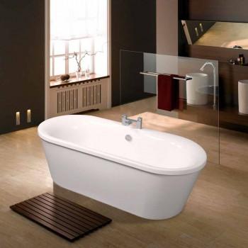 Baño independiente acrílico blanco 1770x820 mm de junio de diseño moderno