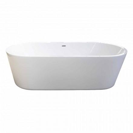 Modernos diseños blancos bañera independiente de 1785x840mm Nicole 2