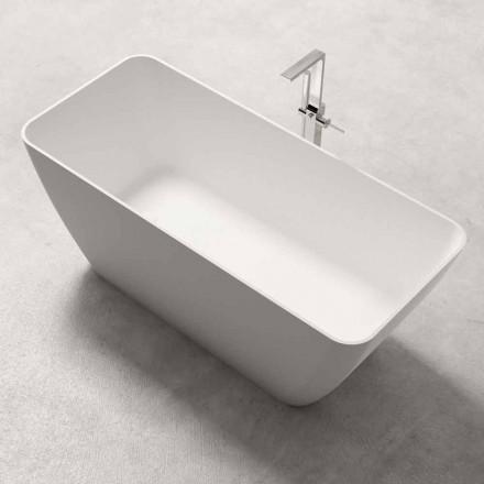 Diseño moderno Bañera independiente brillante o blanco mate - Cara