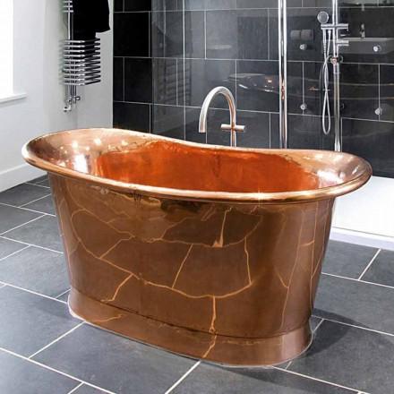 diseño baño independiente Peggy cobre brillante