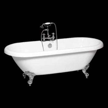 baño independiente en la moderna blanca acrílica Sol 1774x805 mm
