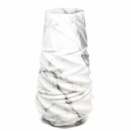Jarrón decorativo de diseño de mármol arabesco hecho en Italia - Brock