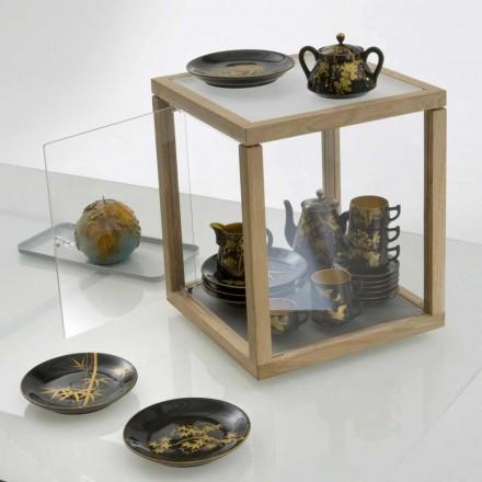 Librería Diseño Zia Babel compartimiento de almacenamiento de Spinning con puerta
